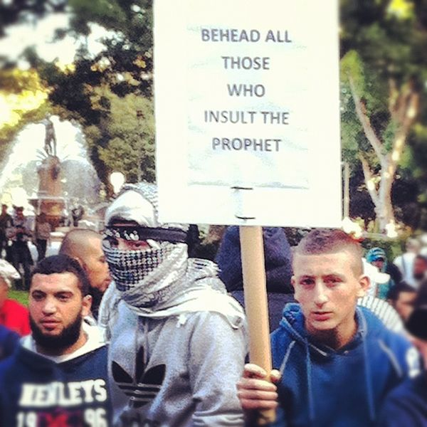 Islamic protest against the Innocence of Muslims.