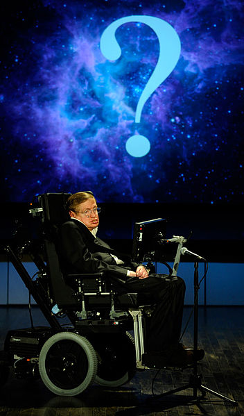 Stephen Hawking, the arch-determinist.